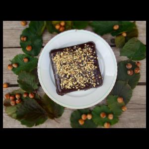 Bezlepkový koláč z lieskovcov s čokoládou