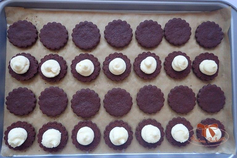 Kakaové Oreo keksíky