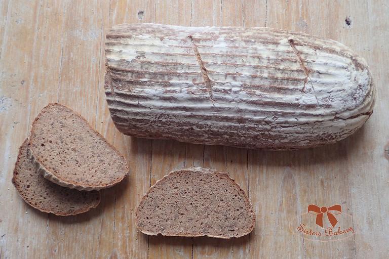Kváskový chlieb z ražnej múky