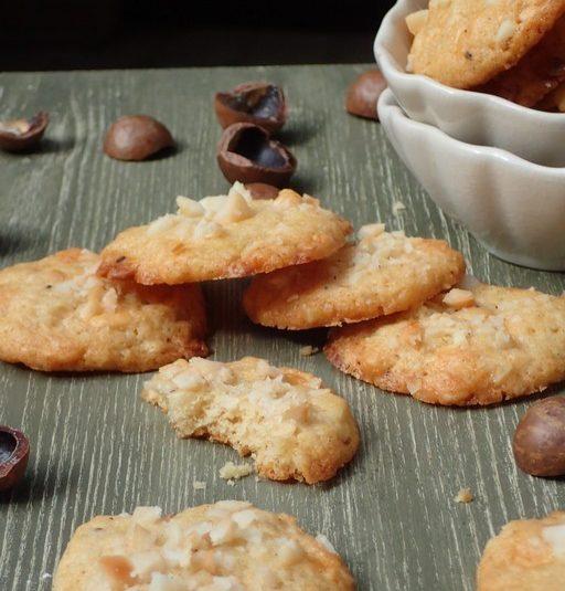 Maslové sušienky z makadamiových orieškov