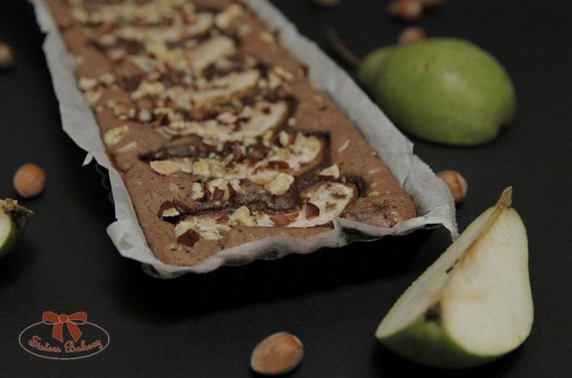 Hruškový bezlepkový brownie s perníkovým korením