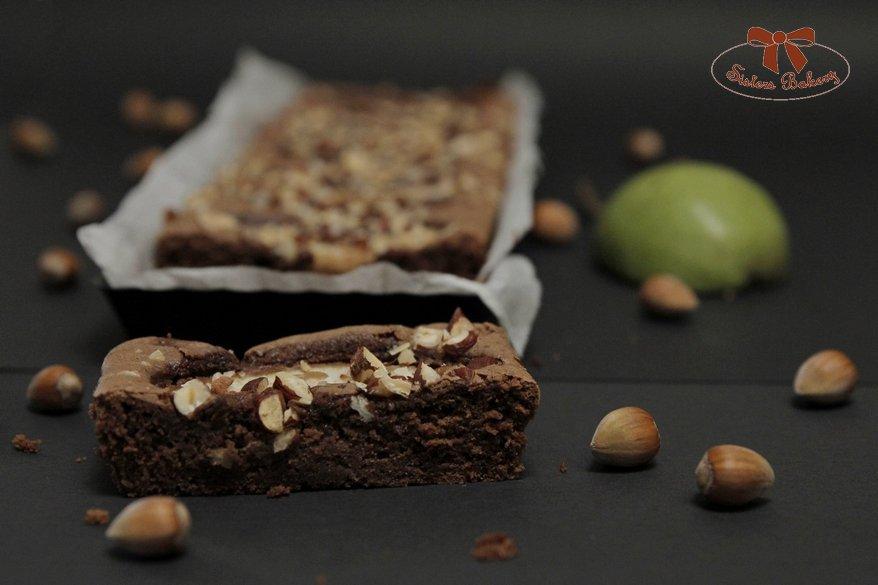 Hruškový brownie