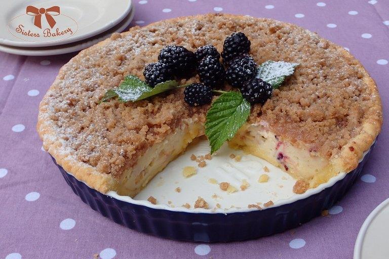 Černicovo – jablkový koláč so škoricovou posýpkou