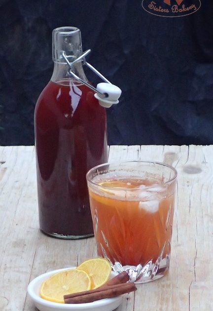 Škoricový sirup na teplé aj studené nápoje