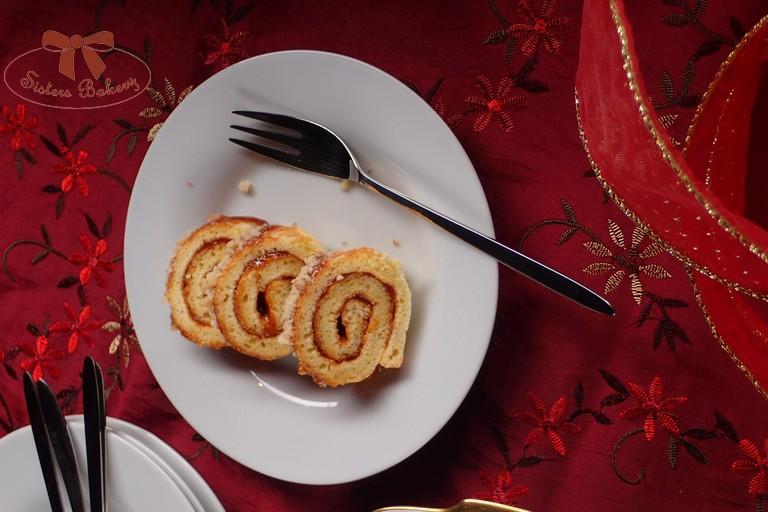 karamelová roláda