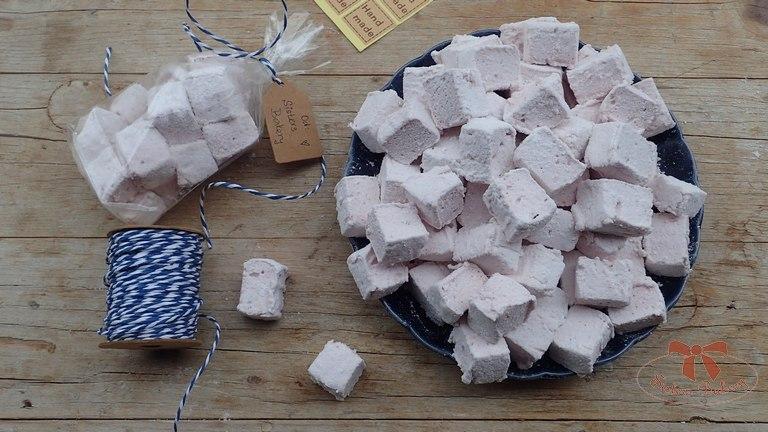 Penové cukríky marshmellows
