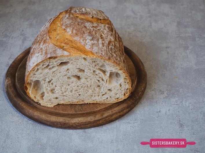 Zemiakový chlieb z ražného kvásku