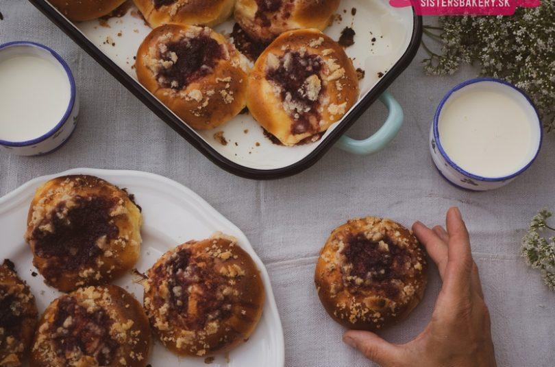 Hanácke koláče s tvarohom a lekvárom