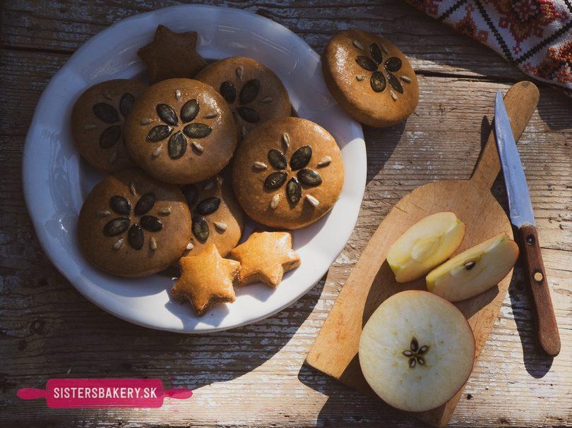 Jablkové perníky na jeseň