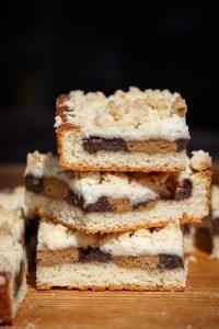 Makovo orechový koláč