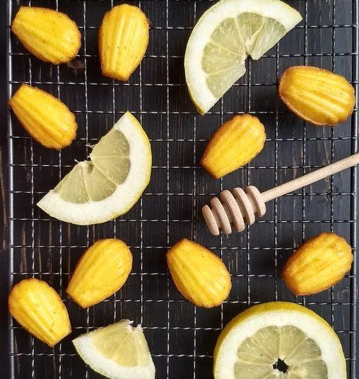 Madlenky – Medovo citrónové koláčiky