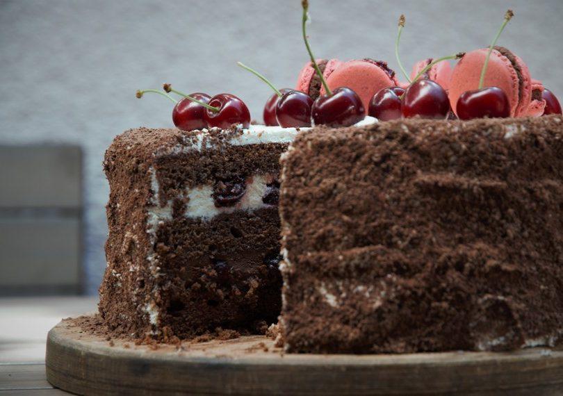 Čerešňová torta Švarcvaldská pre Adama