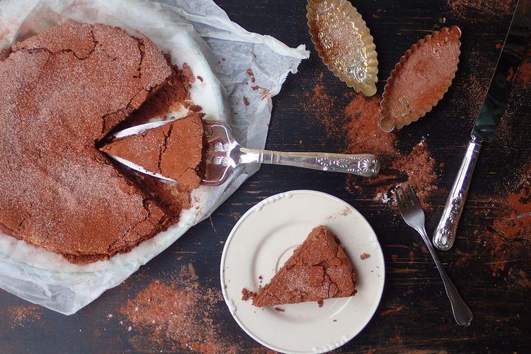 Čokoládový koláč z ryžovej múky