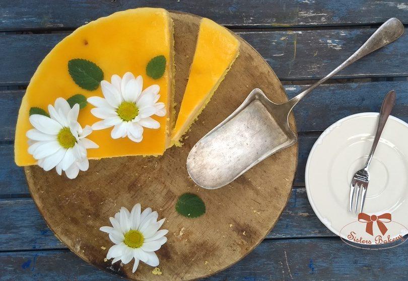 Ovocná torta z nektaríniek na leto