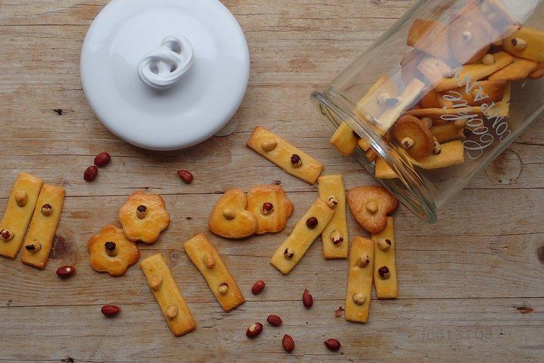 Krehké keksíky s lieskovým orieškom