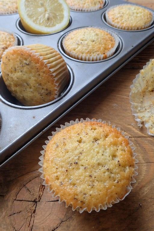 Citrónovo makové muffiny