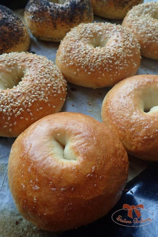 Domáce pečivo bagel