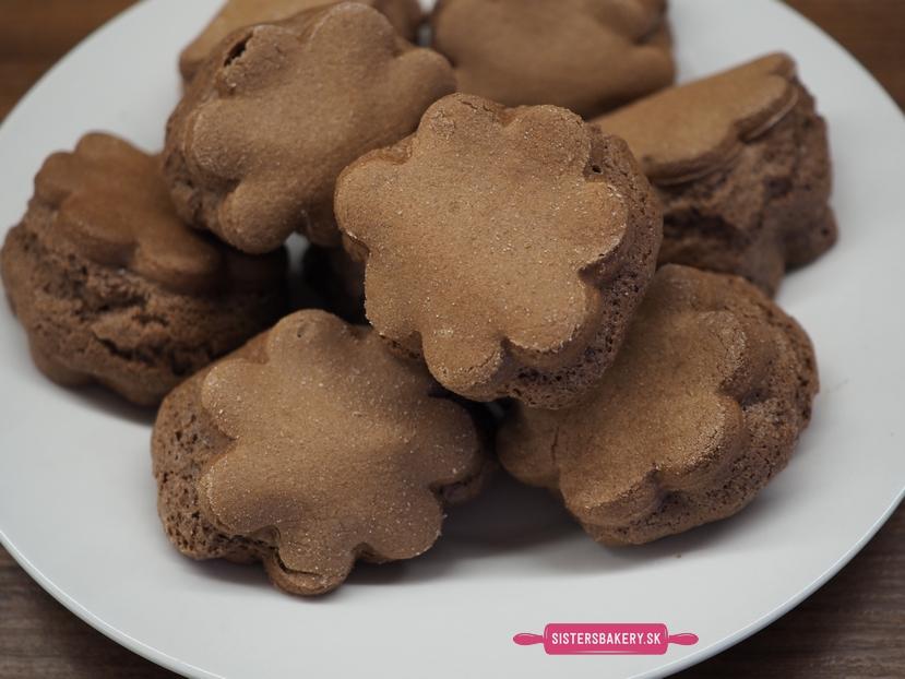 Kakaové keksíky len z troch prísad