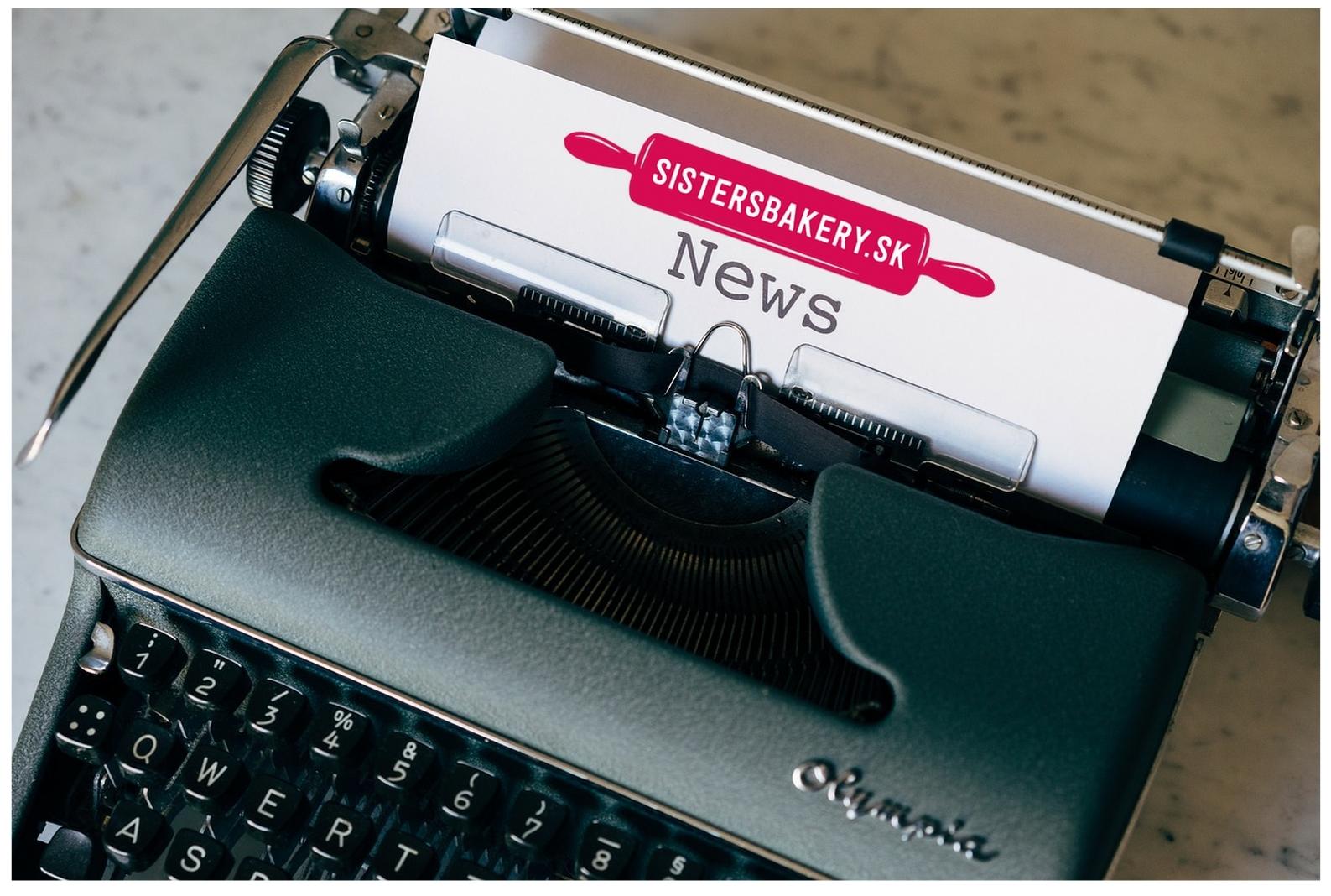 Newsletter Sisters Bakery – Recepty do vašej mailovej schránky