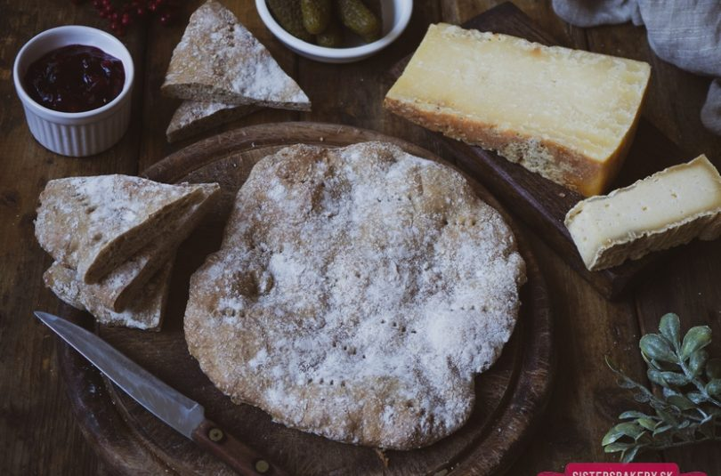 Rýchly ražný chlieb – trasený chlieb