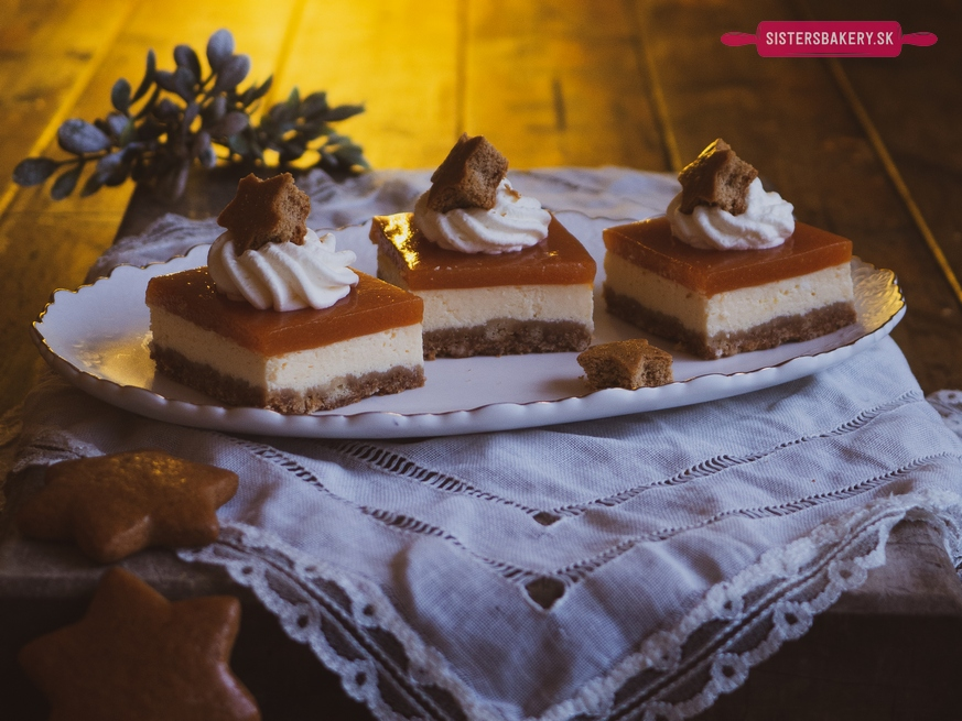 Marhuľový cheesecake z vianočných ostatkov
