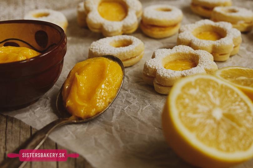 citrónový krém lemon curd