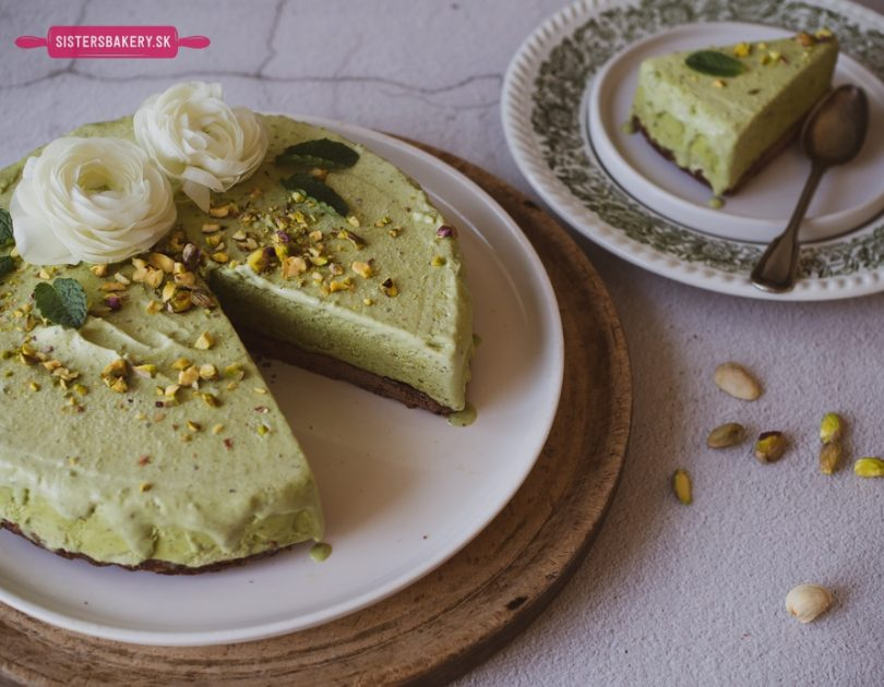 Zmrzlinová pistáciová torta