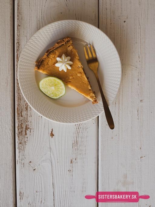 limetkový koláč Key Lime Pie