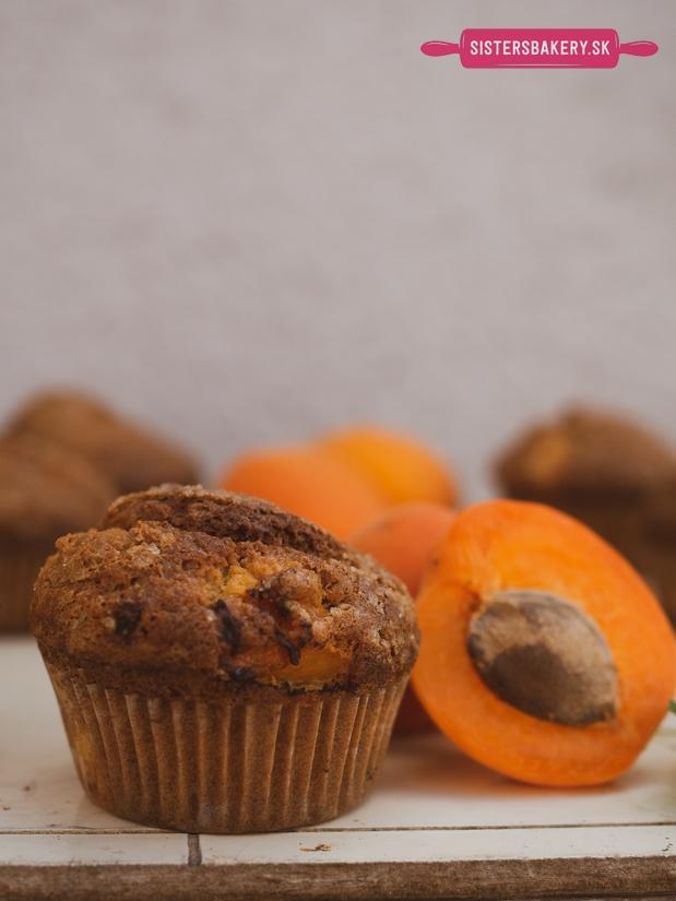 marhuľové muffiny